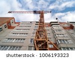 facade of new multi apartment... | Shutterstock . vector #1006193323