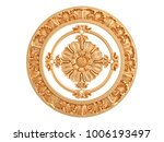 gold ornament on a white... | Shutterstock . vector #1006193497