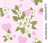 seamless floral background for... | Shutterstock .eps vector #1006193977