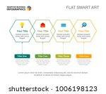 four options workflow slide... | Shutterstock .eps vector #1006198123