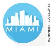 miami florida usa flat icon... | Shutterstock .eps vector #1006210453