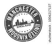 manchester england united... | Shutterstock .eps vector #1006217137