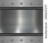 metal plate background | Shutterstock . vector #100625197