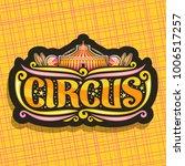vector logo for night circus   Shutterstock .eps vector #1006517257