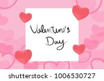 valentine day and card for... | Shutterstock .eps vector #1006530727