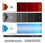 horizontal banners set | Shutterstock .eps vector #100655533