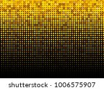 golden halftone dots. gold and... | Shutterstock .eps vector #1006575907