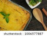 brazilian chicken pie. famous...   Shutterstock . vector #1006577887