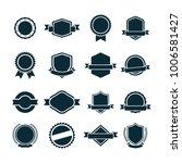 sticker badge templates | Shutterstock .eps vector #1006581427