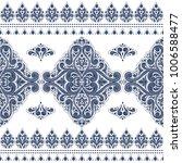 ornamental seamless pattern.... | Shutterstock .eps vector #1006588477