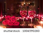 romantic date for two | Shutterstock . vector #1006590283