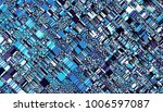 abstract digital fractal... | Shutterstock . vector #1006597087
