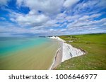 Seven Sisters Cliffs In Sussex...