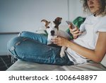 cropped photo of a young... | Shutterstock . vector #1006648897