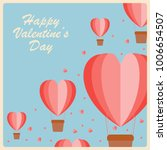 valentine's day greeting card | Shutterstock .eps vector #1006654507
