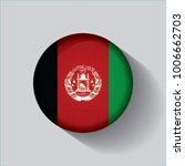 button flag of afghanistan in a ... | Shutterstock .eps vector #1006662703