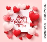 valentines day abstract... | Shutterstock .eps vector #1006690207
