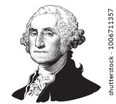 george washington  the first... | Shutterstock .eps vector #1006711357