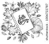 hand drawn vector illustration... | Shutterstock .eps vector #1006722787