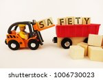 safety at work concept with... | Shutterstock . vector #1006730023