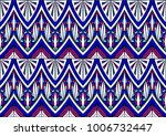 geometric folklore ornament....   Shutterstock .eps vector #1006732447