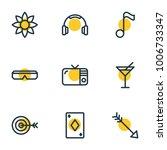 vector illustration of 9 joy...   Shutterstock .eps vector #1006733347