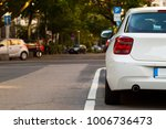 parked car in the city. traffic ... | Shutterstock . vector #1006736473