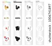 children's toy cartoon icons in ...   Shutterstock .eps vector #1006741897
