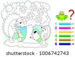 mathematical worksheet for... | Shutterstock .eps vector #1006742743
