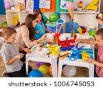 kids playroom organization of... | Shutterstock . vector #1006745053