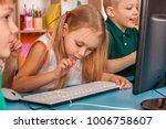 children computer class us for... | Shutterstock . vector #1006758607