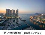 busan city skyline view at... | Shutterstock . vector #1006764493