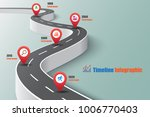 business road map timeline... | Shutterstock .eps vector #1006770403
