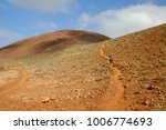 unrecognised tourists ascending ... | Shutterstock . vector #1006774693