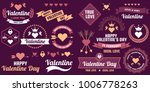 valentine template banner... | Shutterstock .eps vector #1006778263