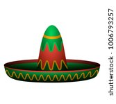 isolated mexican hat image... | Shutterstock .eps vector #1006793257