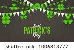 happy st. patrick's day web... | Shutterstock .eps vector #1006813777