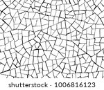 puzzle the cracks texture white ... | Shutterstock .eps vector #1006816123