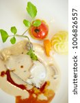Small photo of Foie gras with white sauce