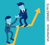 business concept illustration... | Shutterstock .eps vector #1006827973
