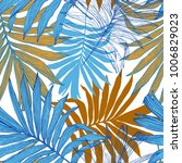 nature seamless pattern. hand... | Shutterstock .eps vector #1006829023
