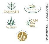 marijuana   cannabis logo... | Shutterstock .eps vector #1006830463