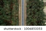 asphalt road and autumn forest... | Shutterstock . vector #1006853353