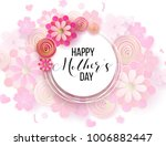 happy mother's day layout... | Shutterstock .eps vector #1006882447