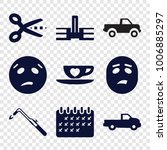 clipart icons set of 9