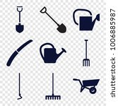 Gardening Icons. Set Of 9...
