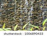 wall brick waterfall | Shutterstock . vector #1006890433