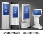 set of promotional interactive... | Shutterstock .eps vector #1006898983