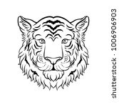 black and white sketch of... | Shutterstock .eps vector #1006906903