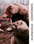 bear and wolf | Shutterstock . vector #1006920643